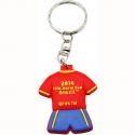 Gantungan Kunci Spanyol Alfamart Official Partner Merchandise FIFA Piala Dunia Brazil 2014
