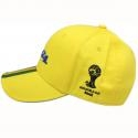 Topi Brazil Alfamart Official Partner Merchandise FIFA Piala Dunia Brazil 2014