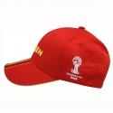 Topi Spanyol Alfamart Official Partner Merchandise FIFA Piala Dunia Brazil 2014