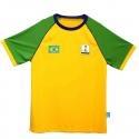 Tshirt Kids Brazil Alfamart Official Partner Merchandise FIFA Piala Dunia Brazil 2014