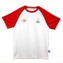 Tshirt Kids Inggris Alfamart Official Partner Merchandise FIFA Piala Dunia Brazil 2014